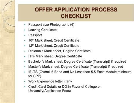 Canada Study Visa Process canada study visa process