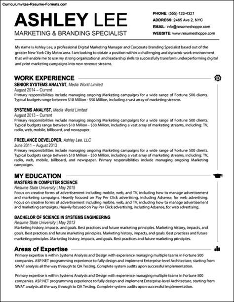 Word Resume Template Mac by Resume Templates Microsoft Word Mac Free Sles