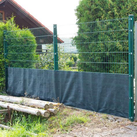 Balkon Sichtschutz 1m Hoch by Sichtschutzzaun Tennisblende 25x1 M