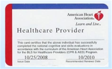 american association healthcare provider card template be prepared 226 cpr and aed recertified 4 4 12