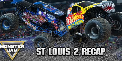 monster truck jam st louis wheels and son uva digger on top again