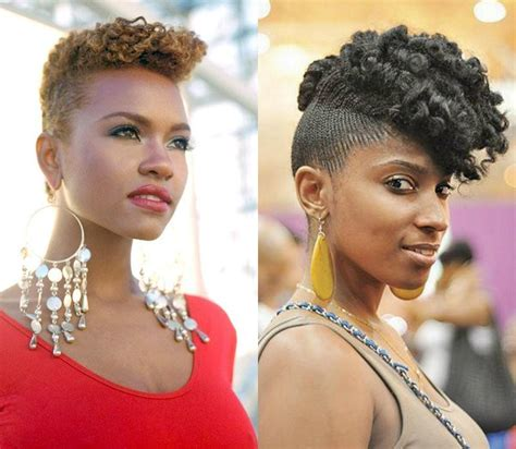 Mohawk Hairstyles With Curls by Whimsical Curly Haircuts For Black To Opt Asap
