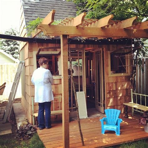Backyard Clubhouse For by 40 Best Images About Clubhouse Shed On Gardens