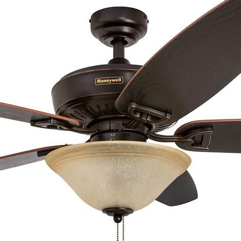 ceiling fan outlet store honeywell belmar ceiling fan rubbed bronze finish 52