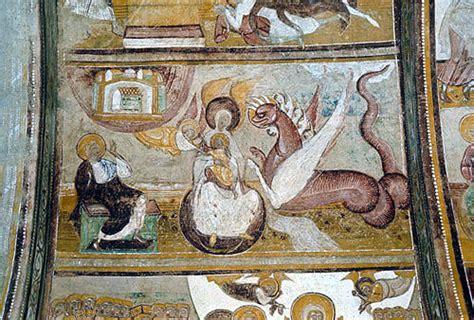 Wall Mural france saint savin sur gartempe abbey of st savin the