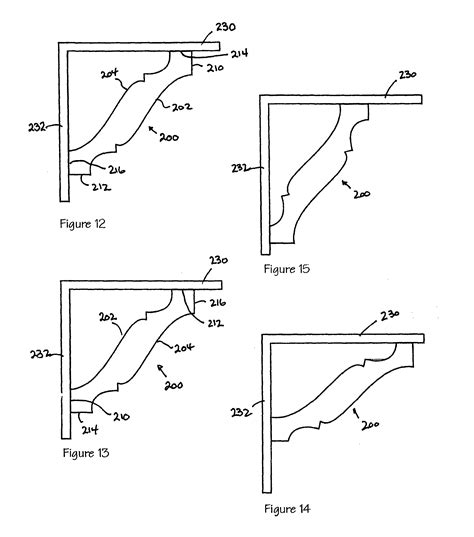 crown section patent us8516758 crown moulding google patents