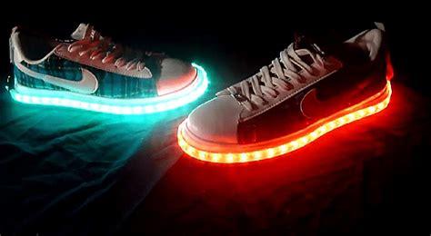 Lights For Shoes by Vision X Led Shoe Kit Will Make You Walk On Light Bit Rebels