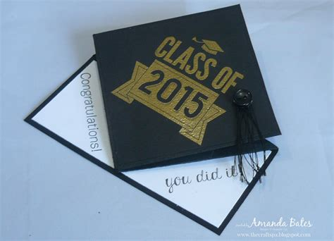 how to make a graduation cap card the craft spa stin up uk independent demonstrator
