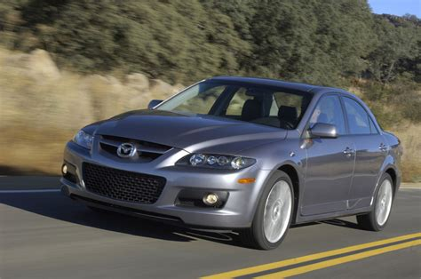 mazdaspeed6 mazda speed 6 test drive car review road test image gallery 2006 mazdaspeed 6