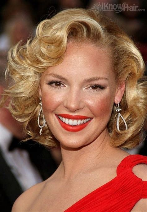 Katherine Heigl Looking Glam At The Academy Awards by Top 25 Best Marilyn Hairstyles Ideas On