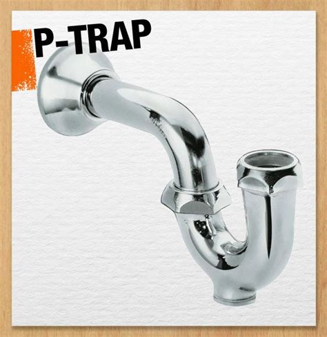 p trap under the p trap is part of your drain pipe usually under a