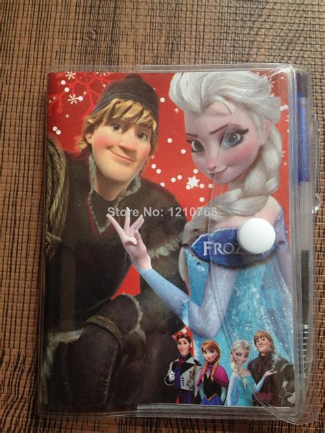 frozen book report 2017 frozen book notebook with a pen student diary book