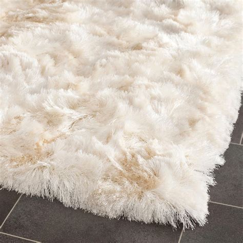 White Fluffy Area Rug Fuzzy White Rug Roselawnlutheran