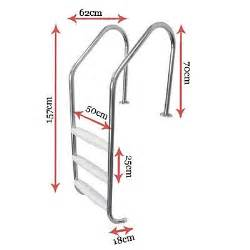stainless steel barn door hardware 3 step stainless steel in ground swimming pool ladder