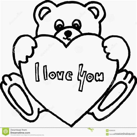 coloring pages of teddy bears with hearts teddy bear and heart coloring pages coloring home