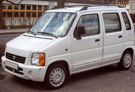 Suzuki Wagoon Automotive Database Suzuki Wagon R