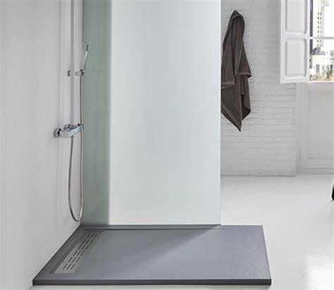 piatto doccia solidstone piatto doccia in pietra solidstone alto 2 8 cm con bordo