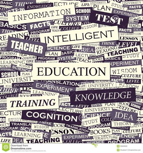 ed pattern words education stock vector image of graphic paper