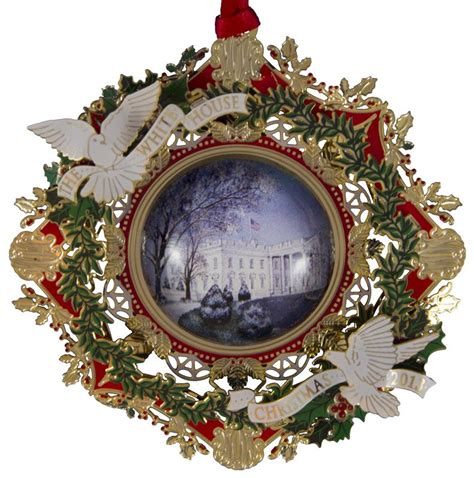 white house ornaments 2013 official white house historical association wilson ornament