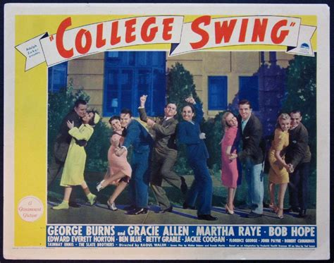 college swing movie posters lobby cards vintage movie memorabilia