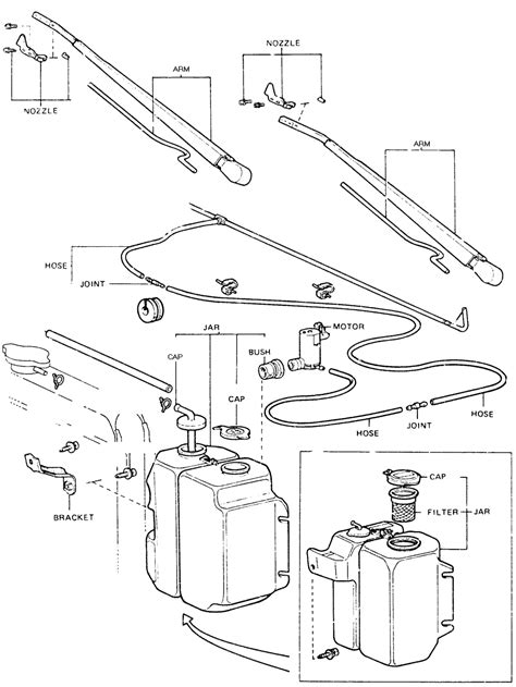 repair guides windshield wiper and washers windshield repair guides windshield wipers and washers washer