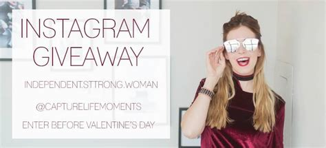 Makeup Giveaway Instagram - february instagram giveaway for the independent strong woman capture life moments