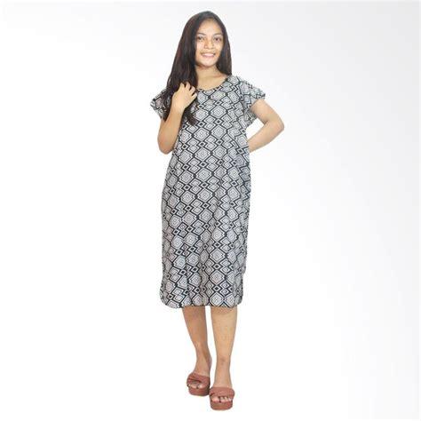 Piyama Tidur Dress D 1 jual batik alhadi bpt002 07e daster batik midi dress