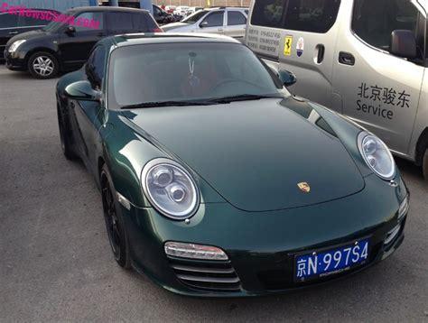 porsche 911 dark green porsche 911 archives carnewschina com