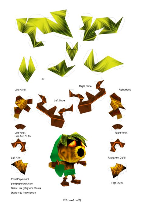 Papercraft Legend Of - legend of papercraft pictures to pin on