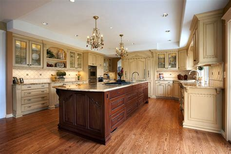 kitchen island different color than cabinets 6 current trends in cabinetry november 2011 newsletter vision woodworks