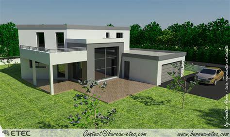 Maisons Toit Terrasse by Maison Toit Terrasse Hauteville 2 Etec