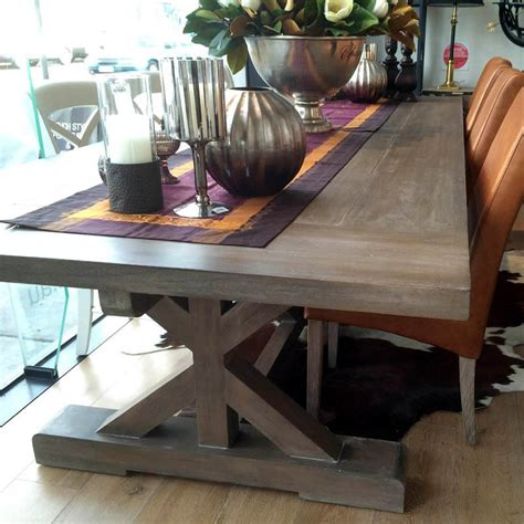 hamptons  base dining table cm  colour