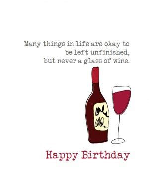 wine birthday wishes birthday wine quotes quotesgram