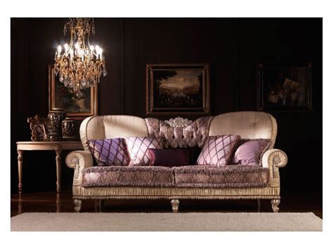 classic luxury sofas classic sofa padded covered in silk for living room