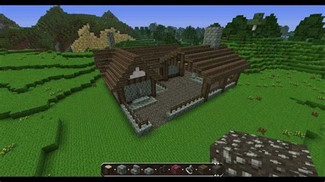 Workshop Blueprints by Minecraft Medieval Blacksmith Tutorial Commentary