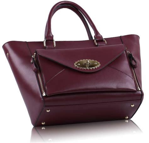 Tas Fashion 0014 12 2310 wholesale burgundy fashion tote handbag