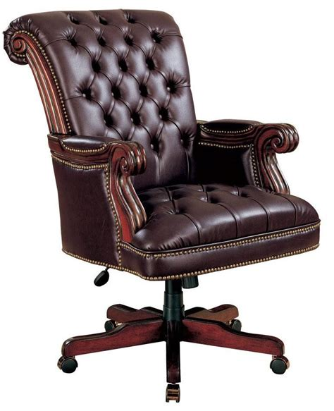 traditional style office chairs home office traditional style leather like vinyl chair