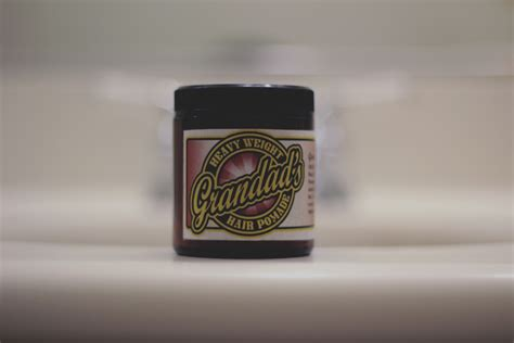 Pomade Grandads grandad s heavy weight hair pomade review the pomp
