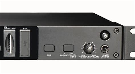 Rack Mount Audio Recorder Gemini Drp 1 Pro Audio Dj Rack Mount Digital Music Audio
