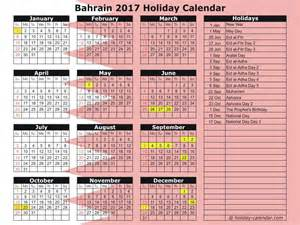 Calendar 2018 Bahrain Bahrain 2017 2018 Calendar