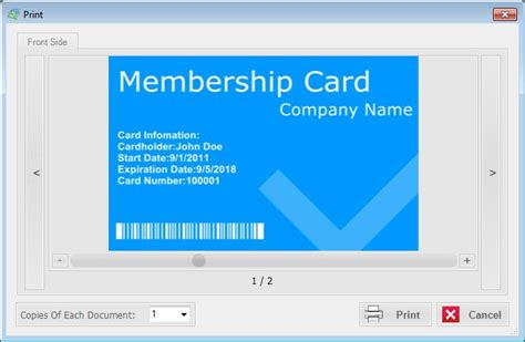 membership card template free free membership card maker inventory systems software