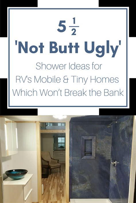 mobile home interior paneling 2018 5 stylish shower panel base ideas for an rv tiny home or mobile home innovate building