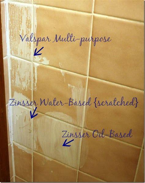 bathroom primer painting tile in bathroom use zinser oil based primer bathroom pinterest good riddance