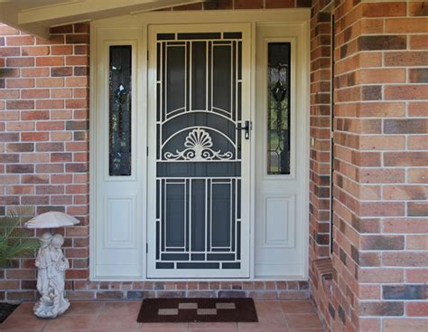 Security Front Doors For Homes Unique Home Designs Security Doors Homesfeed