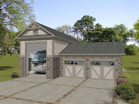 garage for rv rv garage plans rv garage plan with attached 2 car