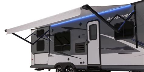 power awning for house 2016 jay feather travel trailers jayco inc