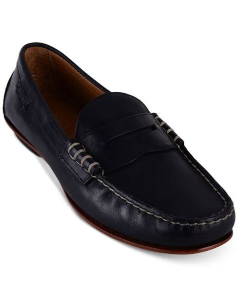 black polo loafers polo ralph s leather loafers in black