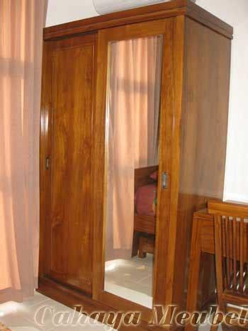 Lemari Jati 2 Pintu lemari pakaian 2 pintu sliding jati lemari pakaian