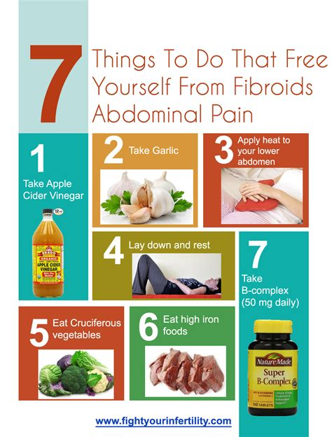7 Things To Do On by 7 Things To Do That Free Yourself From Fibroids Abdominal