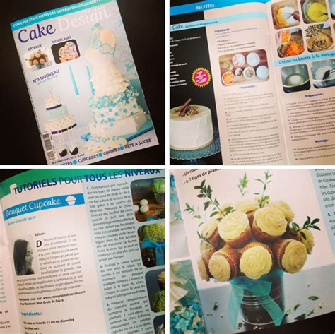 design magazine francais cake design france publications dans le magazine